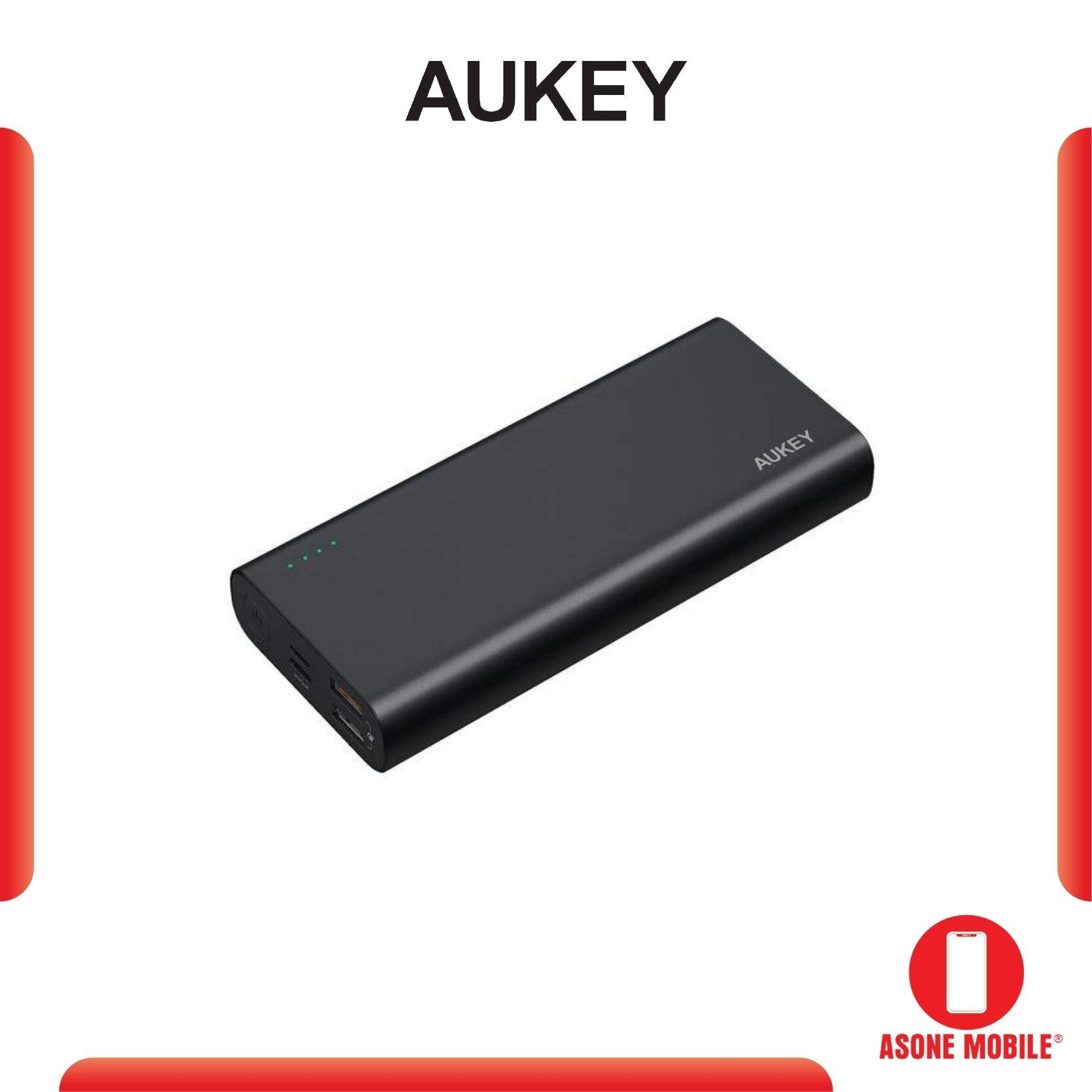 Aukey PB-XD13 20000mAh USB C QC3.0 And Power Delivery Premium Power Bank 2 year warranty