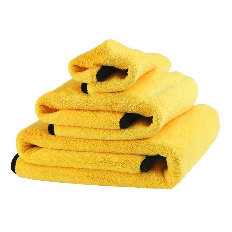 30CM x 60CM Super Thick Fiber Cleaning Cloth Car Wash Home Towel