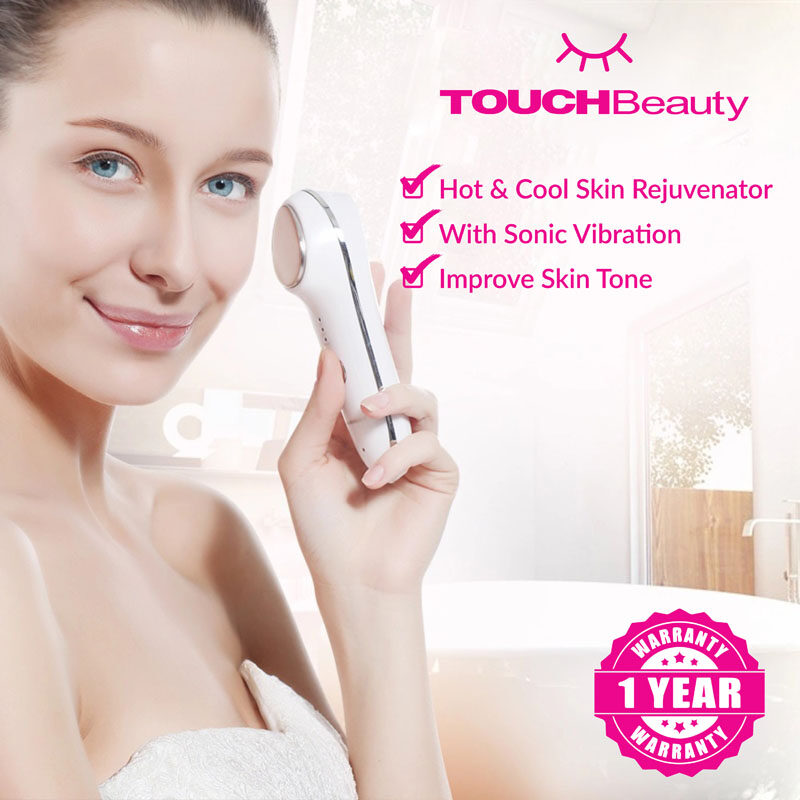 TOUCHBeauty Hot and Cool Skin Care Device TB-1389 Skin Rejuvenator/Removal Anti-aging Pore Minimizing Sonic Vibration/ Face Beauty/Hot Cool Skin Care Machine