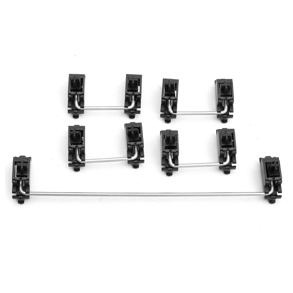 Cool Gadgets - 5 PIECE(s) PCB Mount Mechanical Keyboard Cap Stabilizer Kits For Cherry MX Switc - Mobile & Accessories