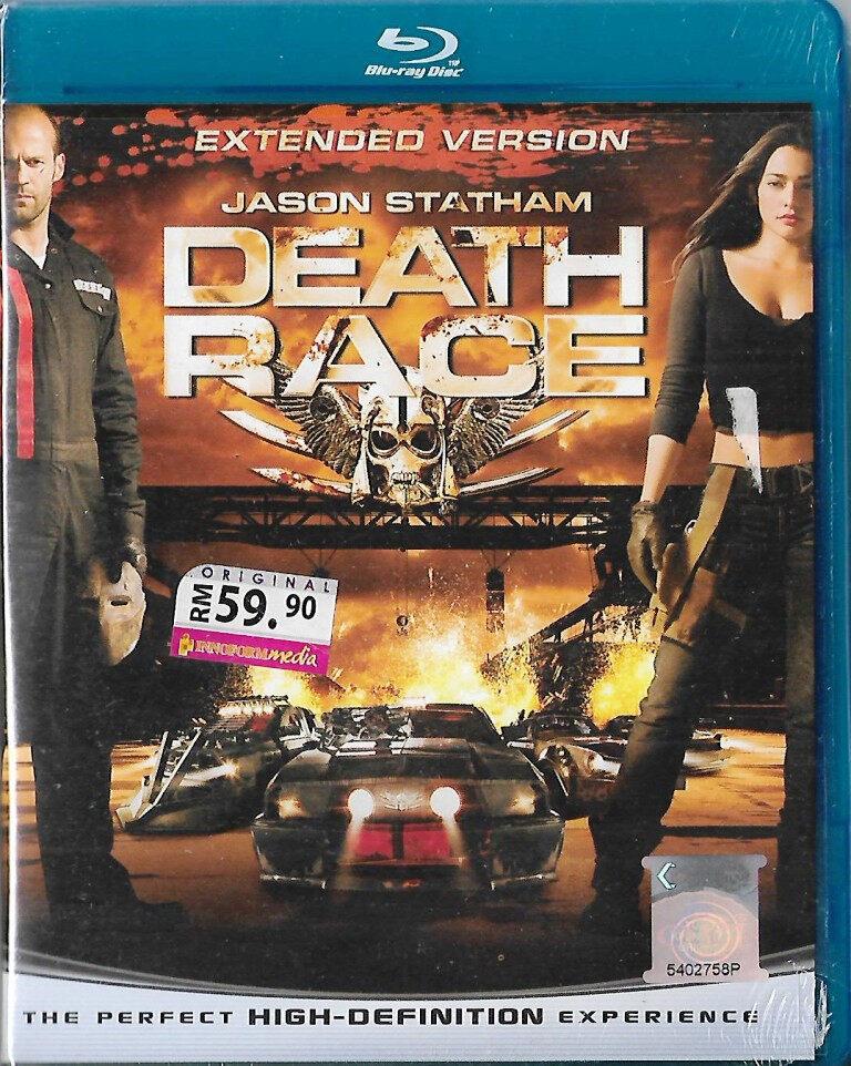 English Movie Death Race 1 Bluray 2008 Film Jason Statham