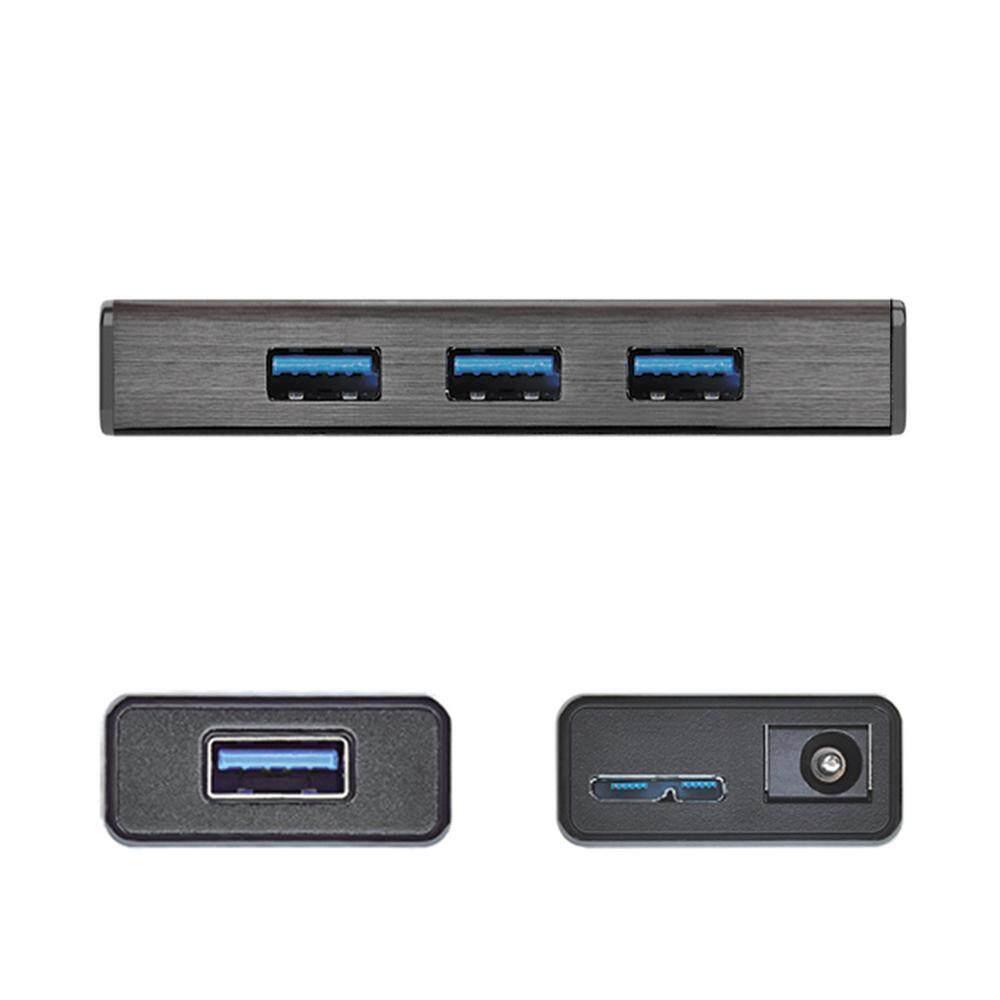 J5 Create JUH340 4-Port USB 3.0 USB Hub With Adapter