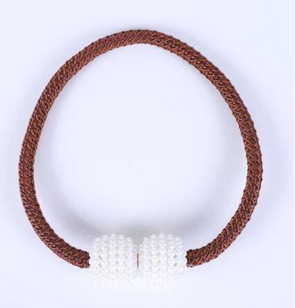 KKC 1pc Pearl Beads Magnetic Curtain Tieback Curtain Accessories Home Decor Ready Stock
