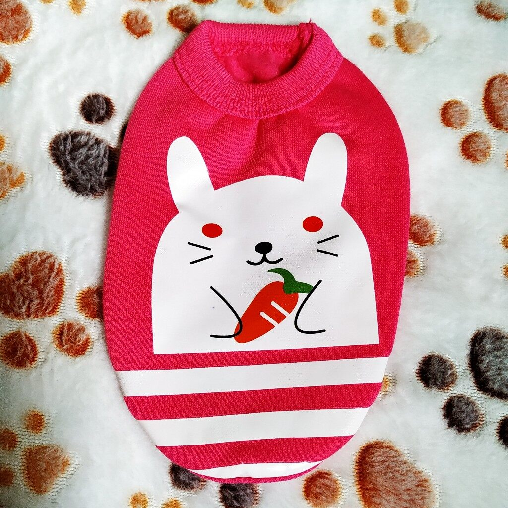 Mini Cloth for Babypets (Pink Rabbit)