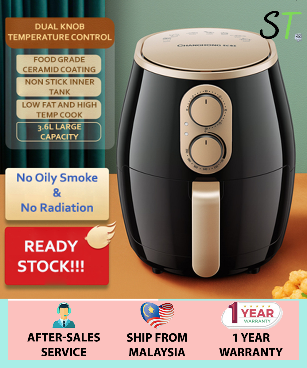 Changhong Smart Air Fryer Automatic Intelligent Electric Multi-Function Machine ( Penggoreng Udara / 空气炸锅 )