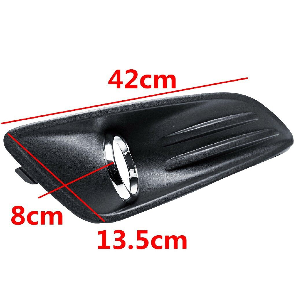 Car Lights - Front Fog Light Lamps Frame Covers Trim FOR FORD FIESTA 2014-2017 - Replacement Parts
