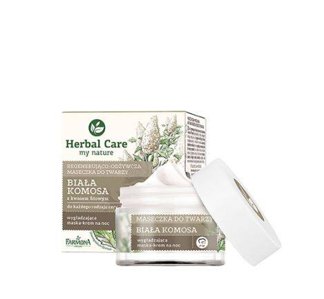 Herbal care Regenerating-Nourishing Face Mask WHITE QUINOA + Phytic Acid