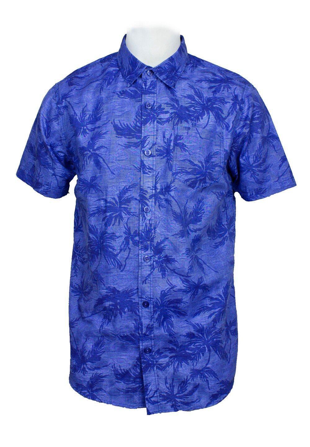 Short Sleeve Shirt with Flower Print-812