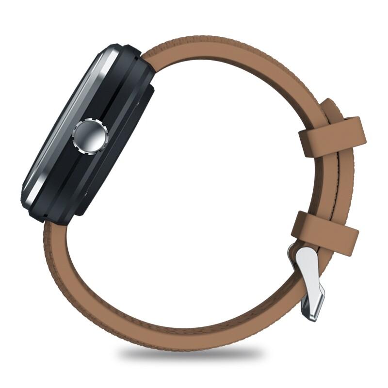Smart Watch - ORIGINAL HYBRID 2 Absolute Toughness Heart Rate Blood Pressure Monitor Female - BROWN / BLACK