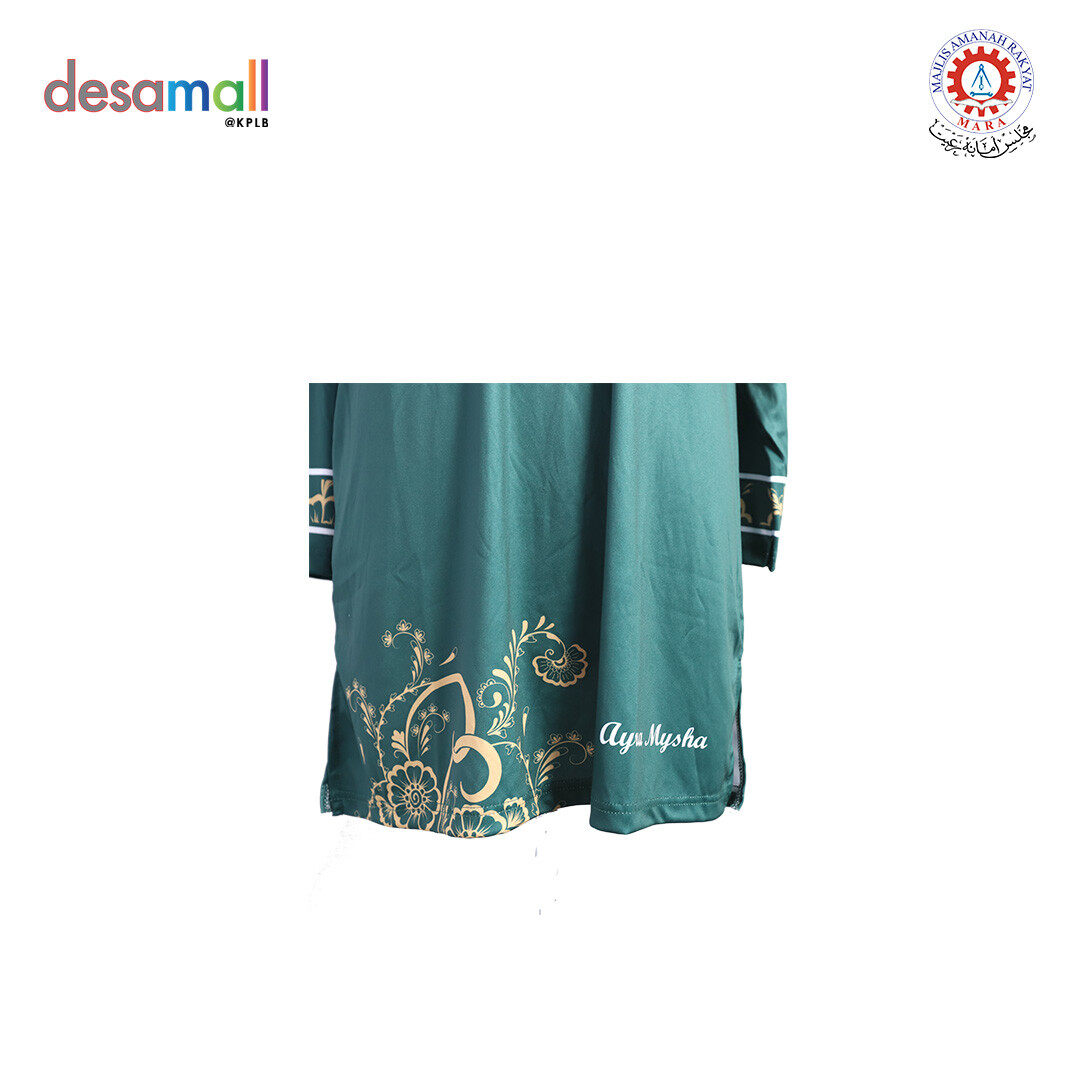 AYRA MYSHA Baju Muslimah Batik Edition - L