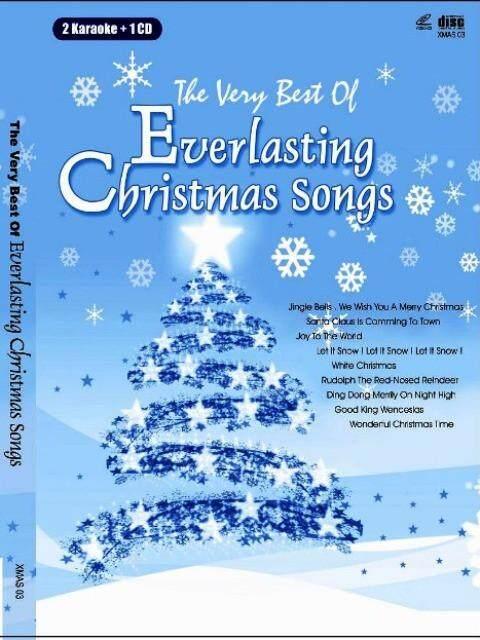 The Very Best of Everlasting Christmas Songs 2 Karaoke VCD + CD