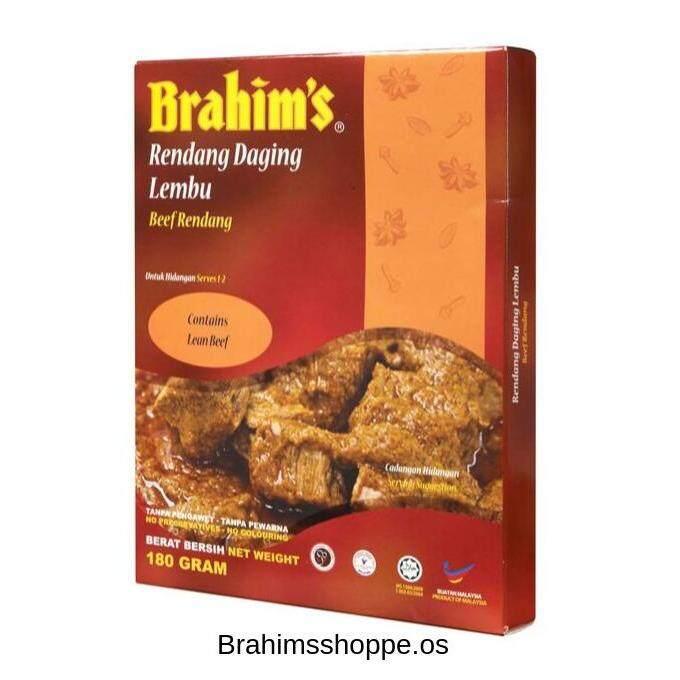Brahim's Rendang Daging Lembu