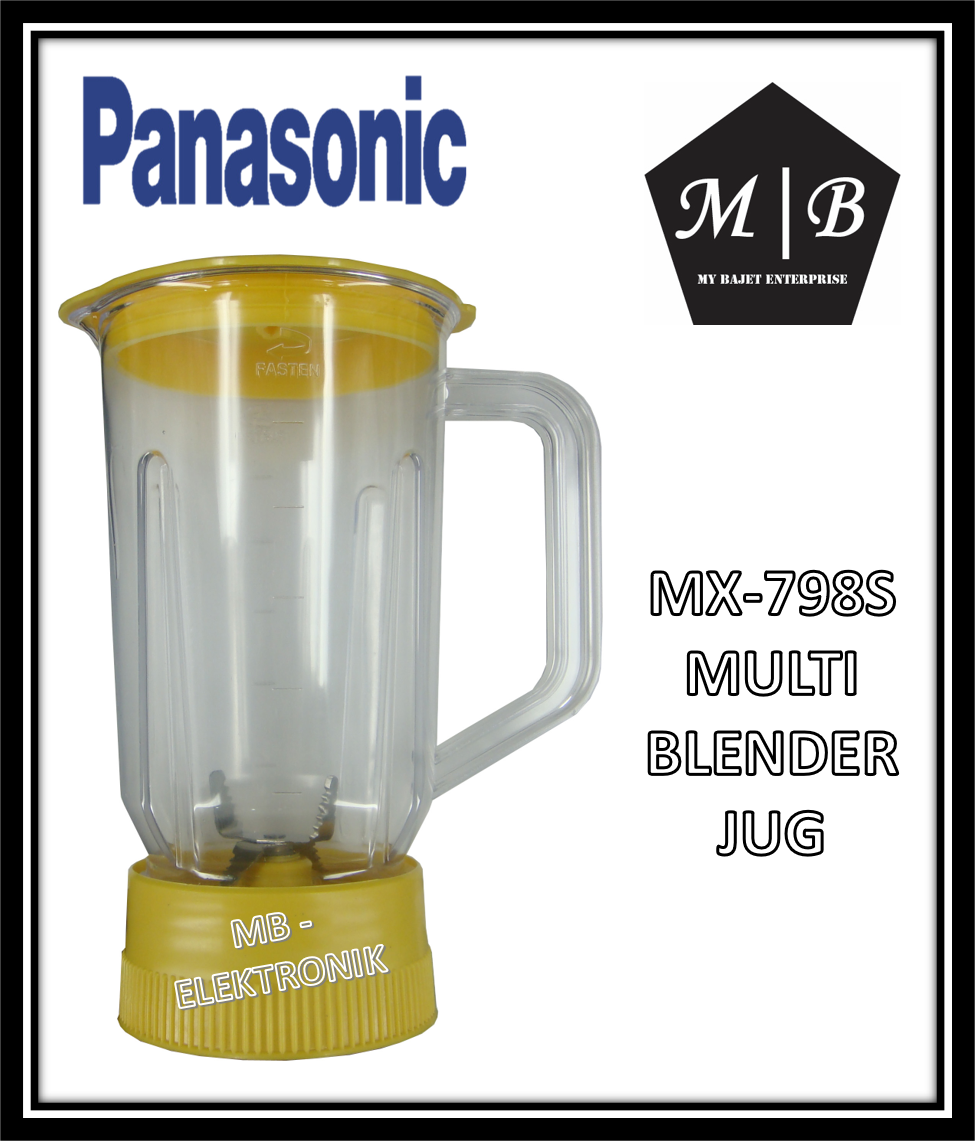 {1 JUG} PANASONIC MULTIFUNCTION BLENDER JUG MX-798S