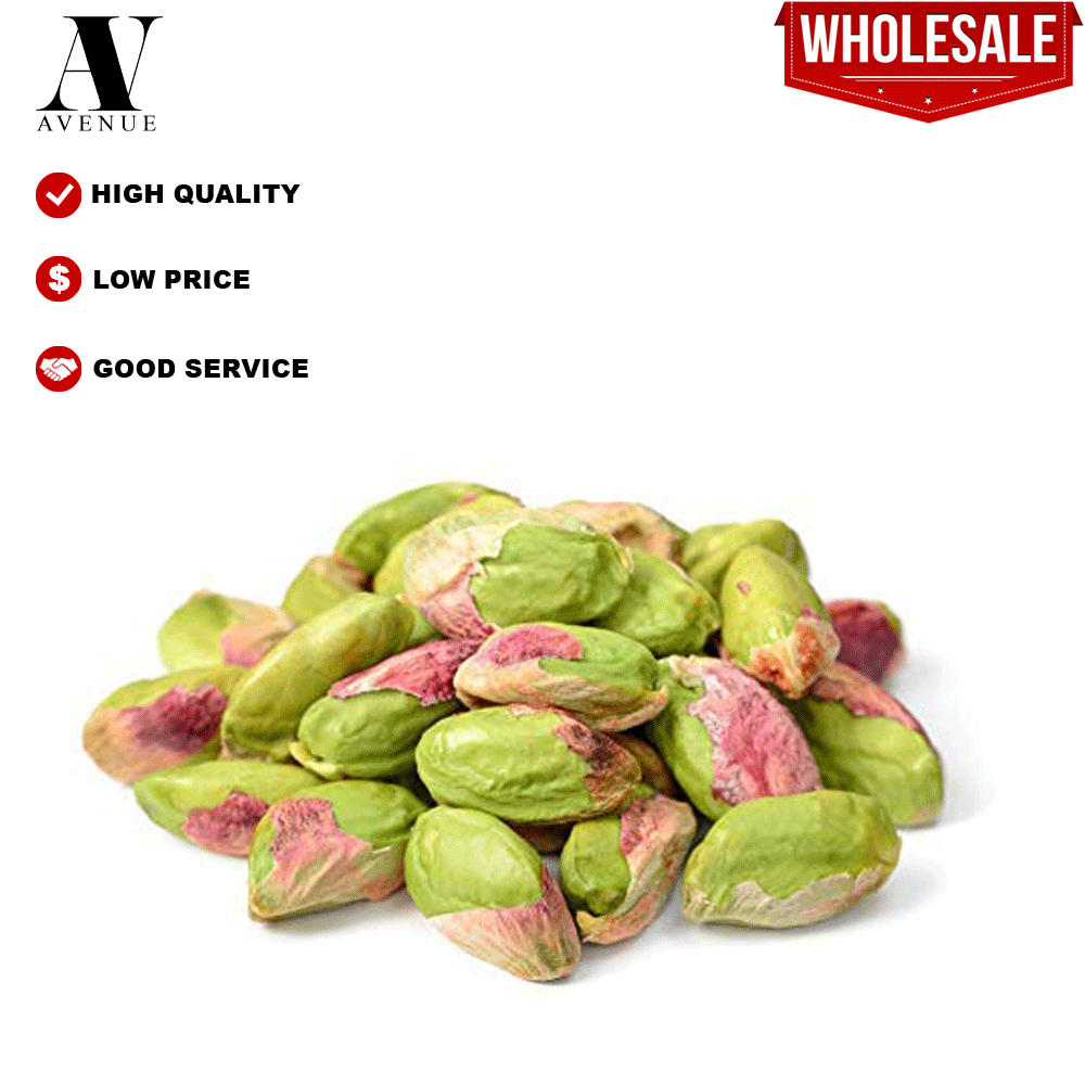 USA Premium Natural Raw Pistachio Nuts Kernel ( without Shell) 500g  Kacang Pistachio tanpa kulit