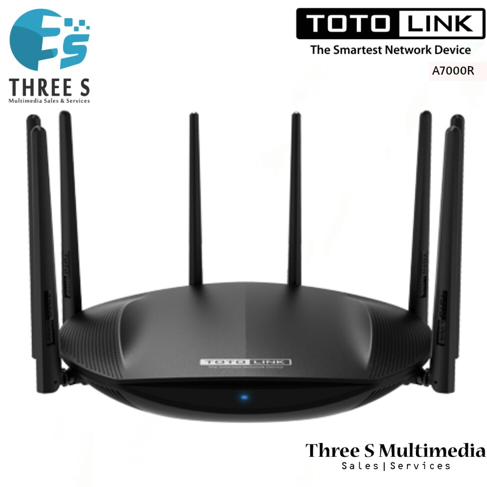 TOTO LINK AC2600 Wireless Dual Band Gigabit Router A7000R