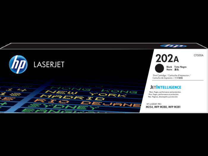 HP 202A Magenta / Yellow / Cyan / Black Original LaserJet Toner Cartridge