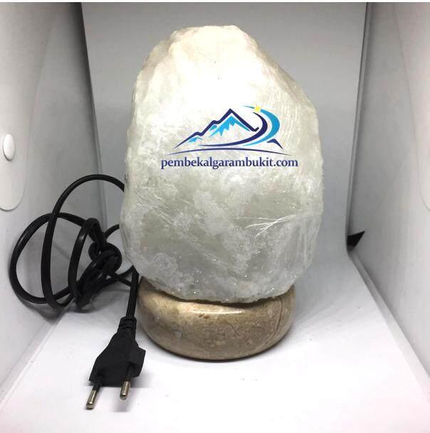 Lampu Garam Bukit Himalaya Putih White Himalayan Salt Lamp original Pakistan