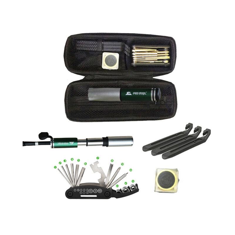 YKBIKE [LOCAL READY STOCK] 1set Giyo Bicycle Repair Kits Bag Bike Multifunction Tools Repair Tool Bottle Bag Portable TOL33