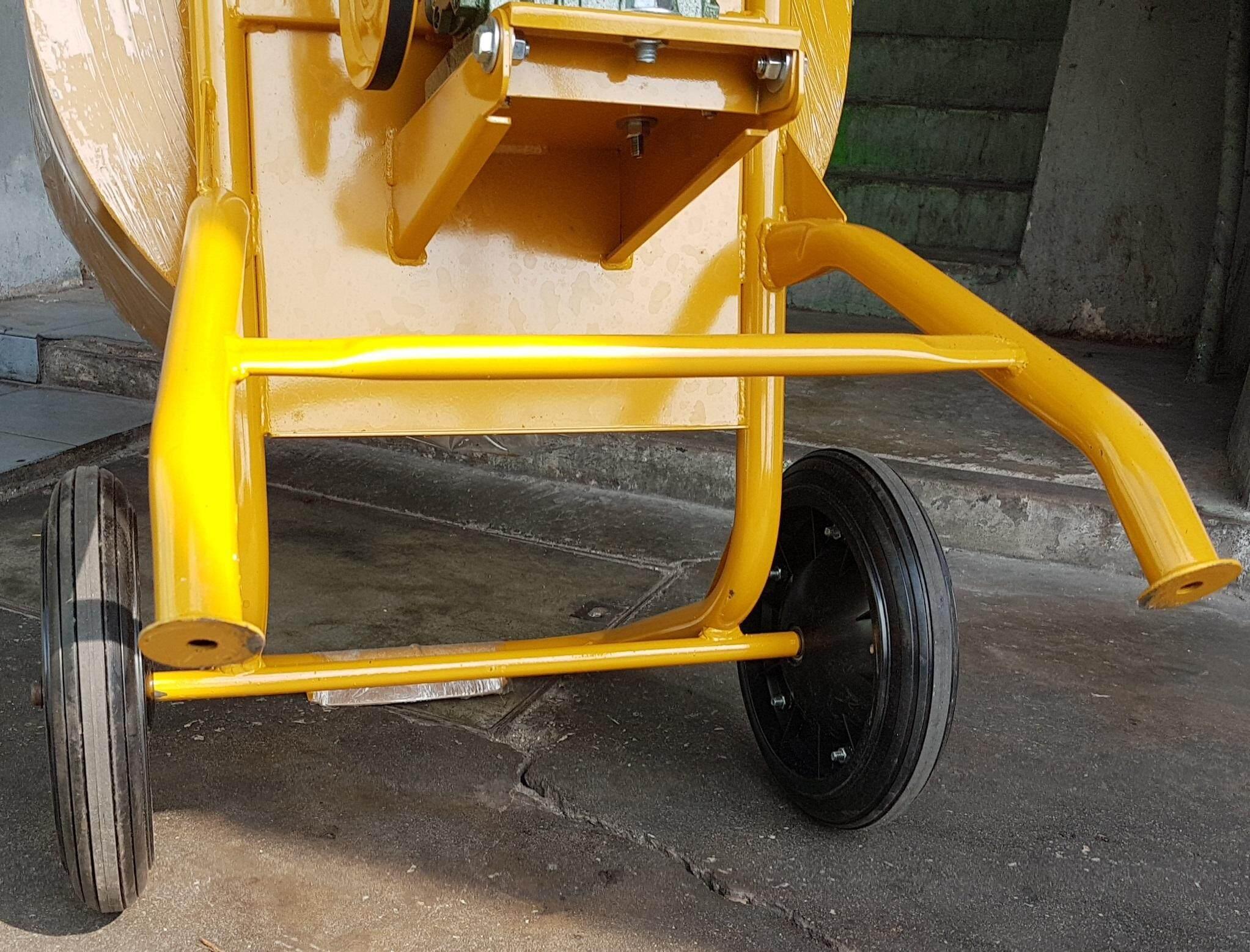 75L 6.5 hp engine petrol mini mixer concrete sand cement mix mixing carry handle portable barrow tank truck drum lift