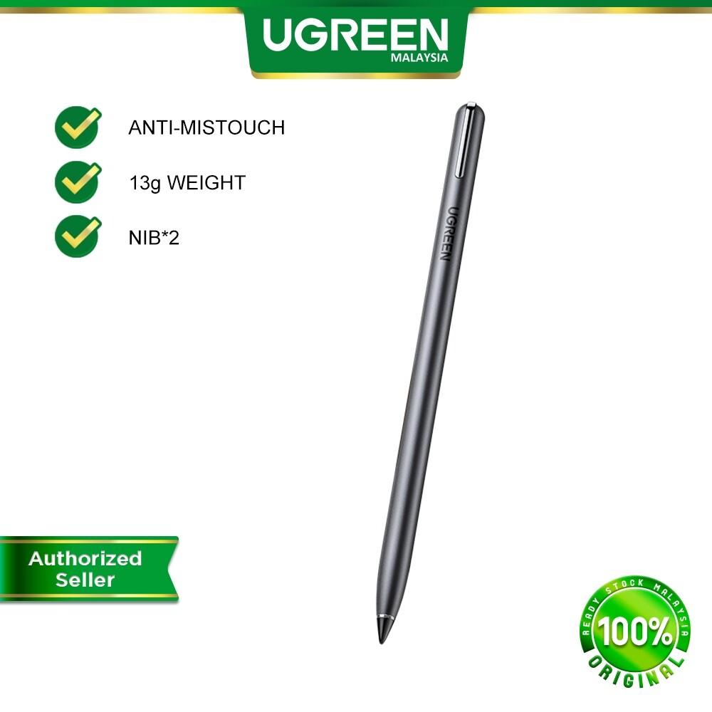 UGREEN Stylus Pen Touch Screens Digital Pencil Capacitive Pen Fine Point Stylist Pen Pencil for iPad Apple Pencil Active Stylus Pen for iPad Pro 2018 2020 iPad Accessories Touch Pen