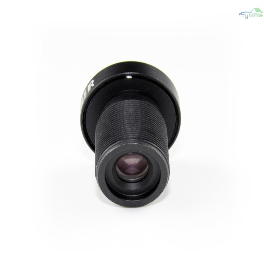 CCTV Security Cameras - 2.1mm Lens Fisheye CCTV Lens 1/2.5 HD 5.0 Megapixel For IP CCTV Cameras M12 Mount 155 Compatible - BLACK