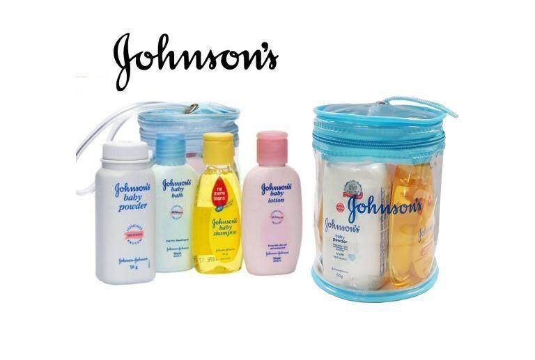 Johnson Travel Kit Baby Travel Kit 4 in 1