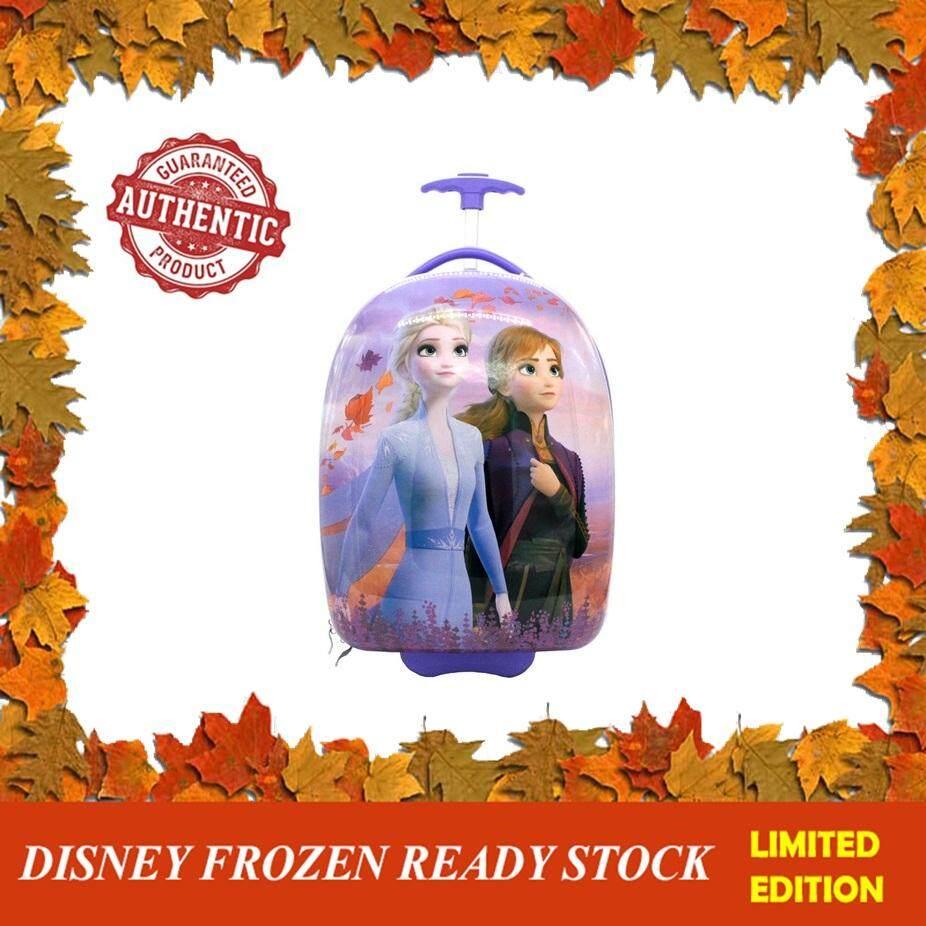 100% DISNEY AUTHENTICDisney Princess Frozen 2 : 18 Inches Round Shape Luggage - Elsa & Anna