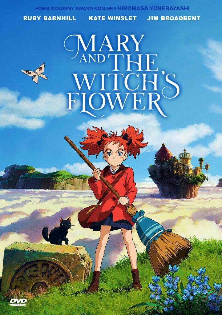 Mary and the Witch's Flower Anime DVD