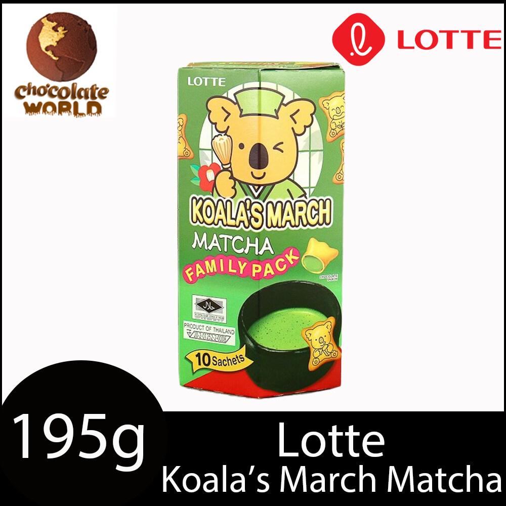lotte koala's march matcha 195g