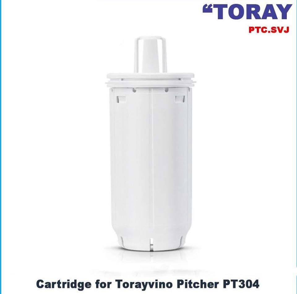 Torayvino Pitcher 2L, PTC.SVJ Replacement Filter Cartridge