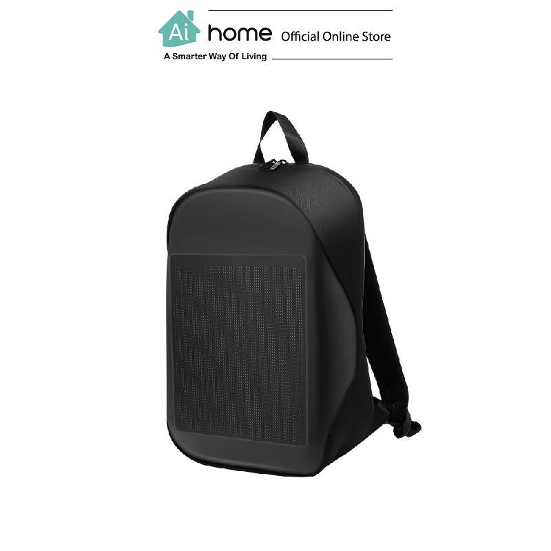 BIOSLED Smart LED Lifestyle Bag (Black) with 1 Year Malaysia Warranty [ Ai Home ] BIOSLED LED Bag