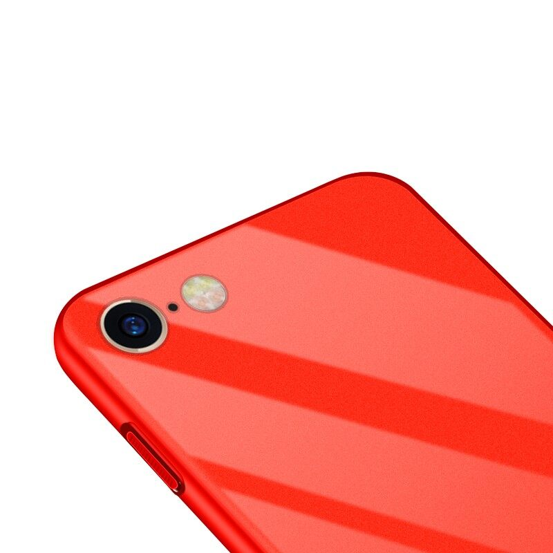 iPh Soft Cover - Piano Paint Glossy Thin Hard PC Protective Case for iPh 6/6s Plus - iPh 6PLUS PINK / iPh 6PLUS BLUE / iPh 6PLUS RED / iPh 6PLUS WHITE / iPh 6PLUS BLACK / iPh 6 PINK / iPh 6 BLUE / iPh 6 RED / iPh 6 WHITE / iPh 6 BLACK