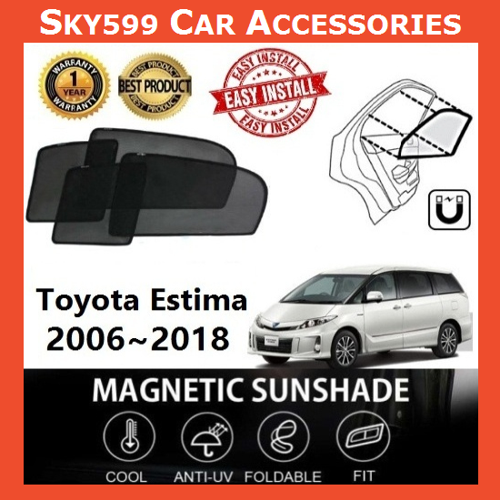 Toyota Estima 2006-2020 Magnetic Sunshade ?6pcs?