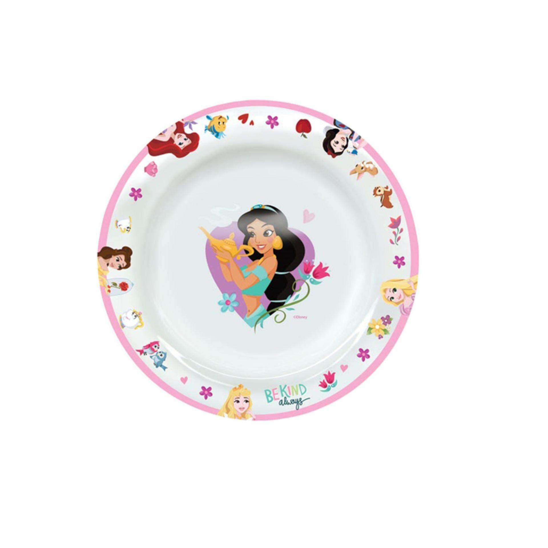 Disney Princess 8 Inches Deep Plate - Multiolour
