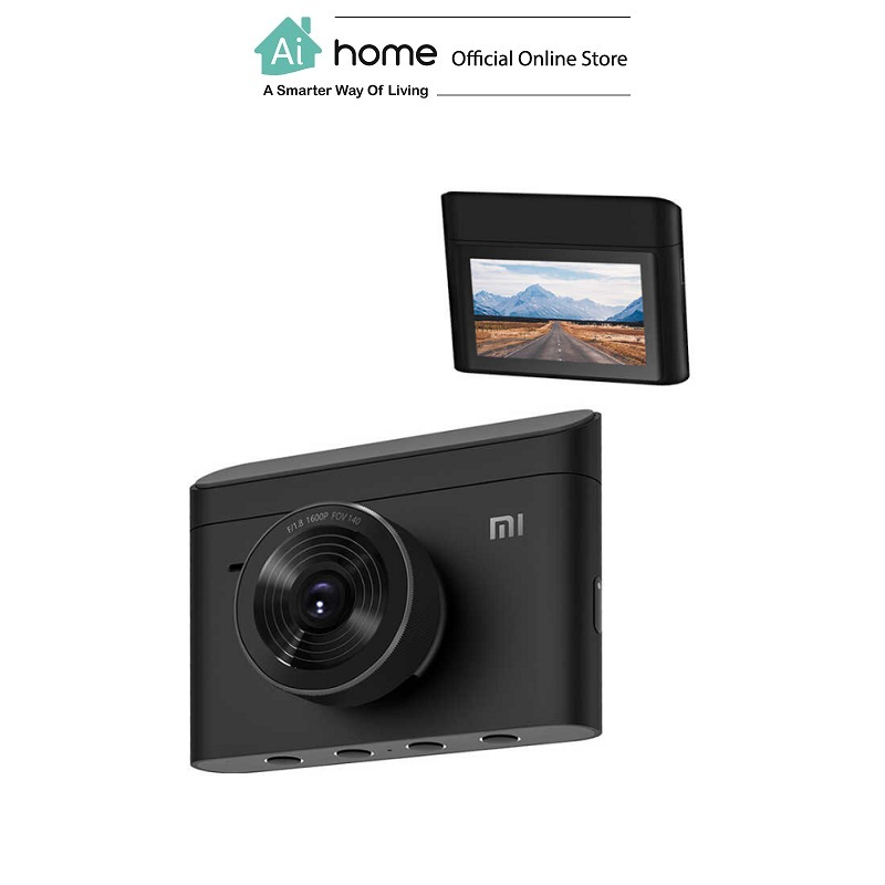 XIAOMI Dash Camera 2K Driving Recorder 2 (Black) with 1 Year Malaysia Warranty [ Ai Home ] XIAOMI 2K Driving Recorder
