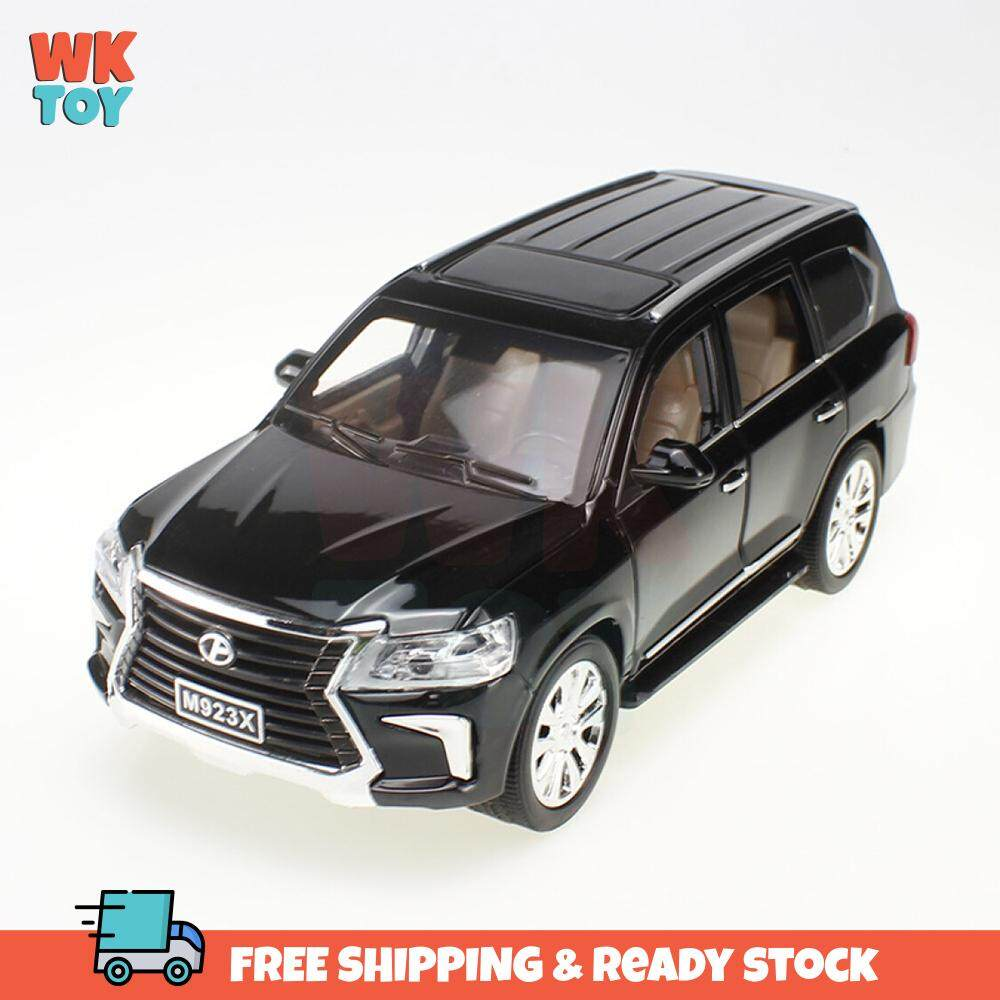 WK XLG Lexus LX570 High Simulation 1:24 Die Cast Alloy Model with Light & Sound and Pull Back Power