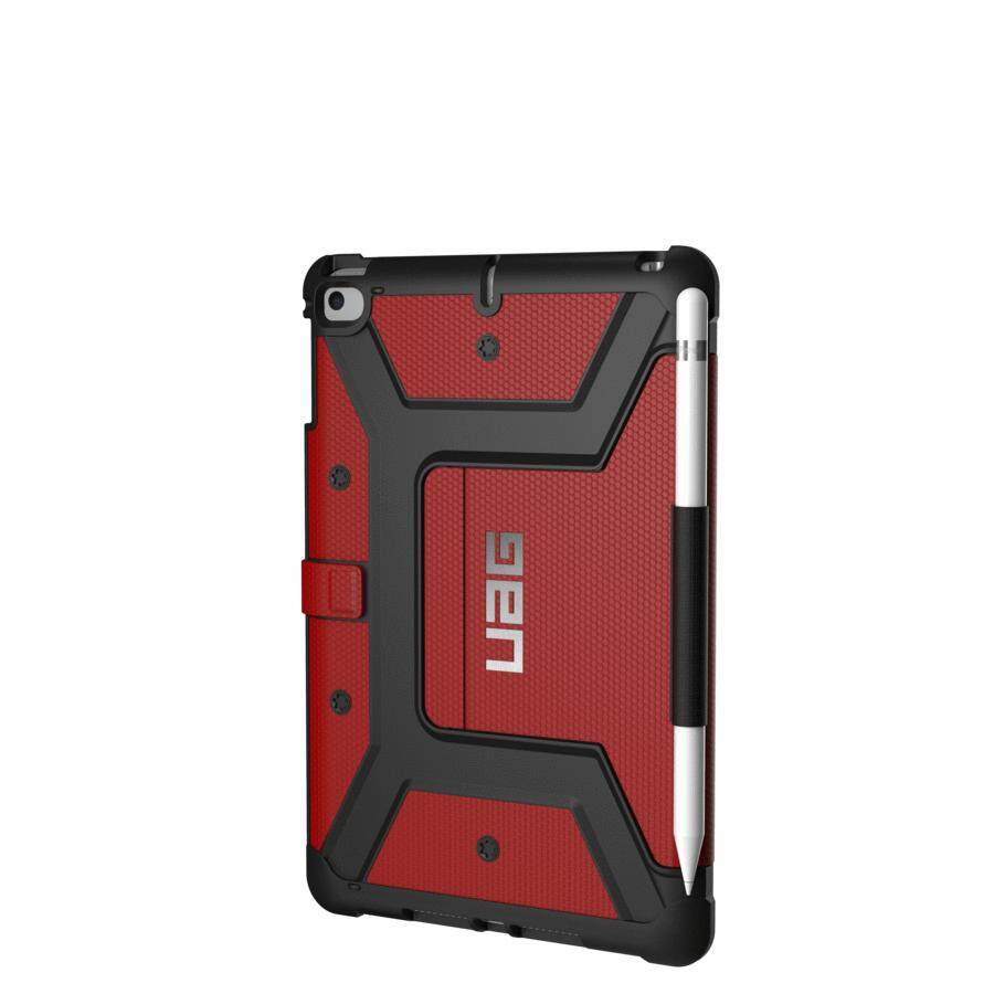 ORIGINAL UAG Metropolis Protection Case for Apple iPad Mini 5 2019 (Magma-Red) with Pencil Holder [READY STOCK]