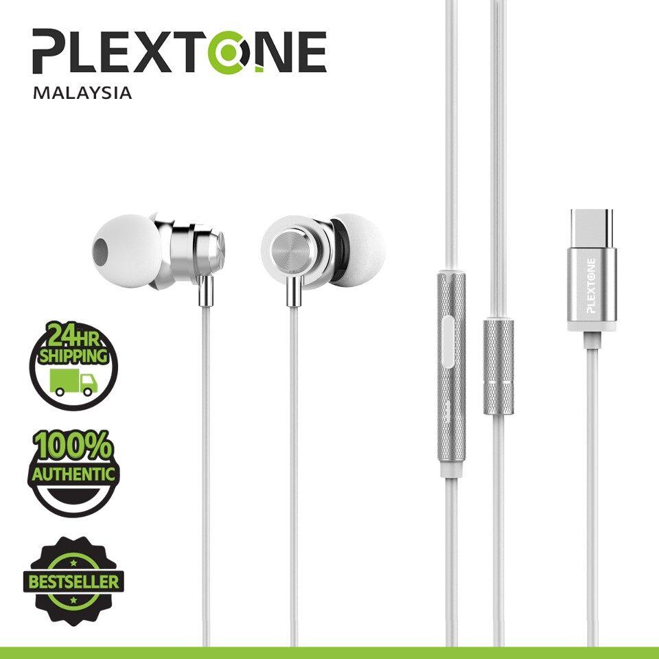 PLEXTONE X56M TYPE C Super Bass HD HI-Res Metal Earphones with remote control USB C in ear Headphones Sport earphone for SAMSUNG HUAWEI XIAOMI OPPO VIVO REALME
