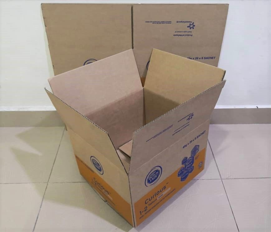 10pcs Printed Carton Boxes (L315 X W292 X H212mm)