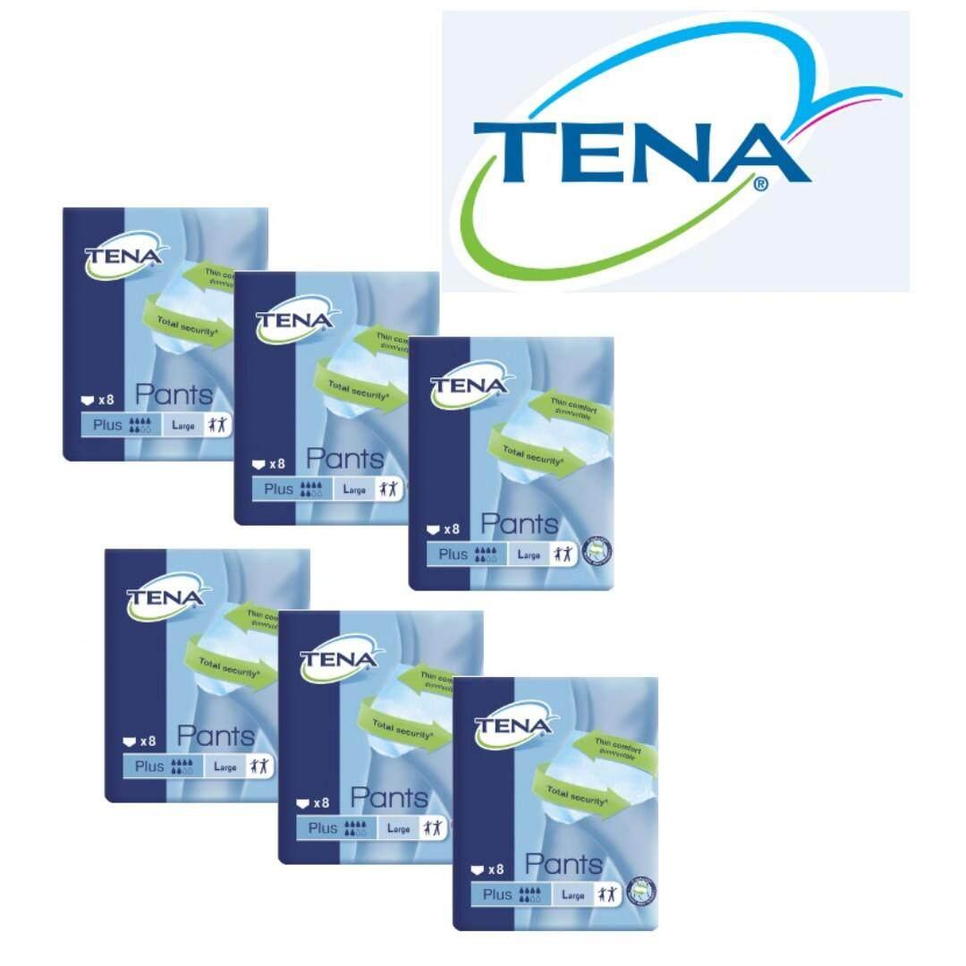 TENA Pants Plus L Size BUNDLE (8 pcs x 6 bag)