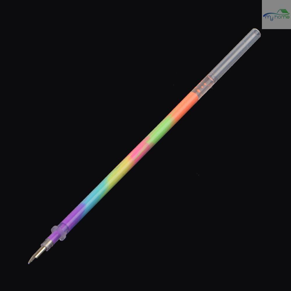 Lighting - 5 PIECE(s) Multi Color Rainbow Refill Highlighter Gel Pen Ball Point Pens Graffiti Fluorescent - PACK OF 5