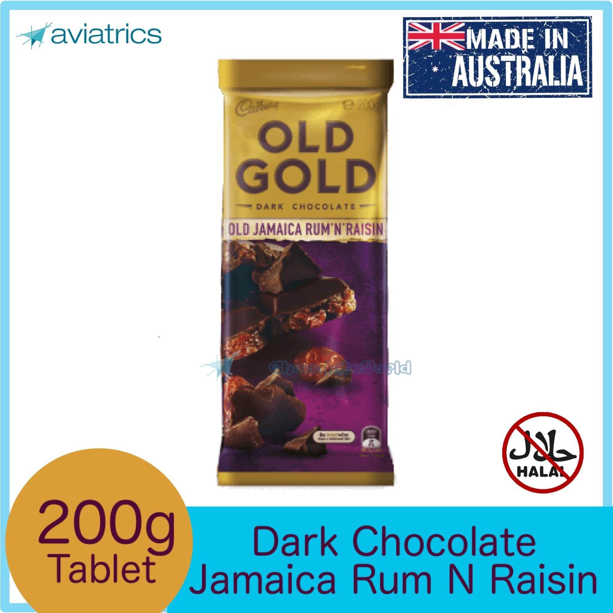Cadbury Old Gold Jamaica Rum 'n' Raisin 180g (Made in Australia)
