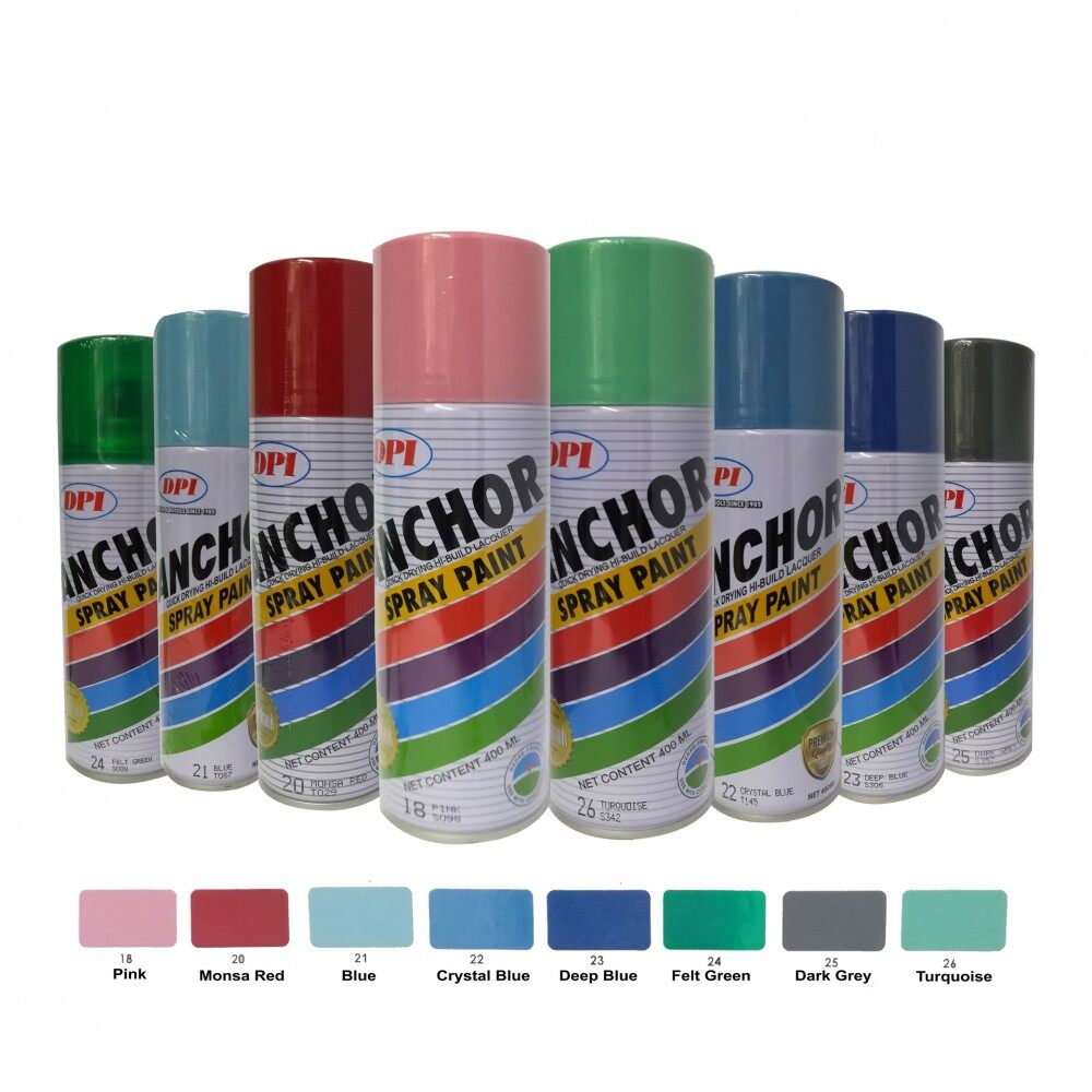 Anchor Spray Paint 100% Original (Standard Colour) / Spray Anchor