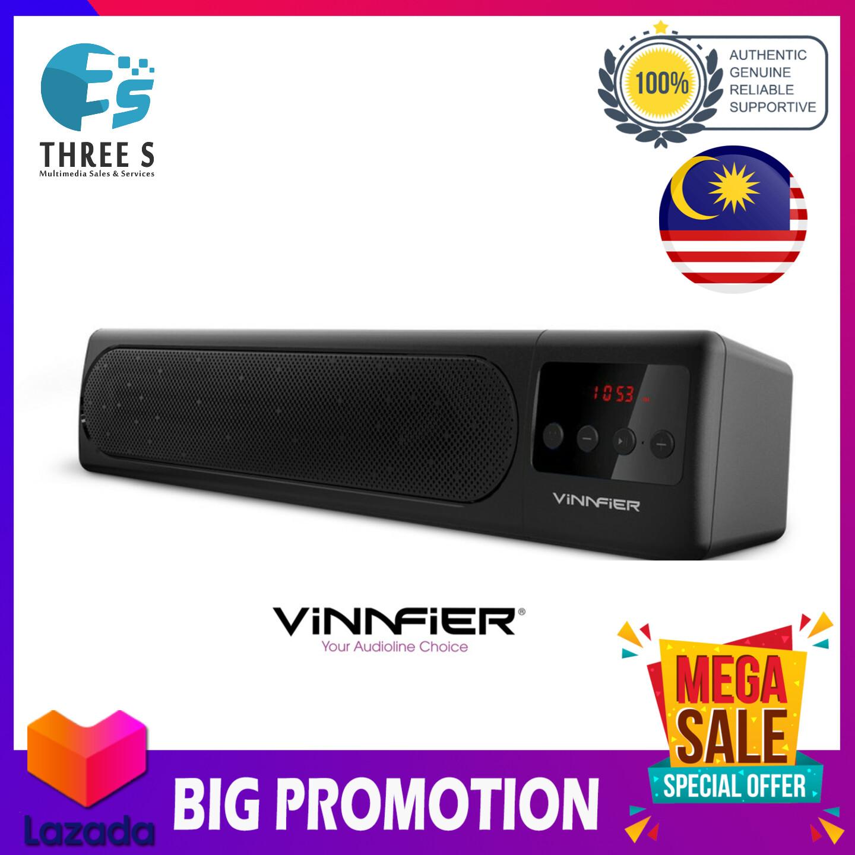 VINNFIER HyperBar 100 BTR Wireless Bluetooth Sound bar with FM Radio USB SD Card Slot and LED Display Speaker