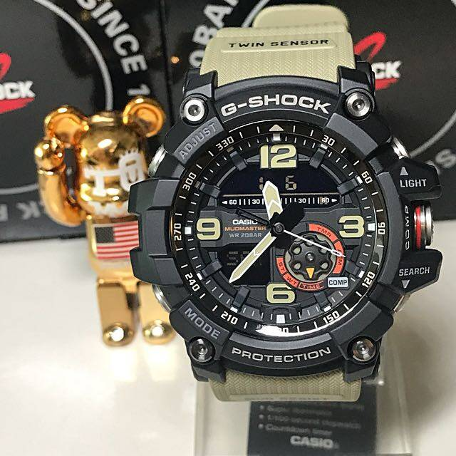 【Ready Stock】Casio G-SH0CK GG-1000 MUDMASTER Mens Watch Men Sport Watches