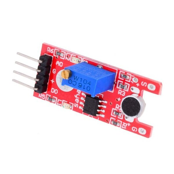 Sound Sensor Module Voice Detection KY-038 Microphone Adjustable KY038 4 Pin for Arduino IoT & Raspberry Pi