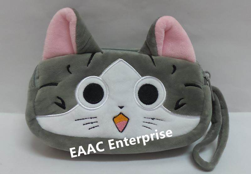 Cute Cartoon Chi's Cat Plush Pencil Box Case