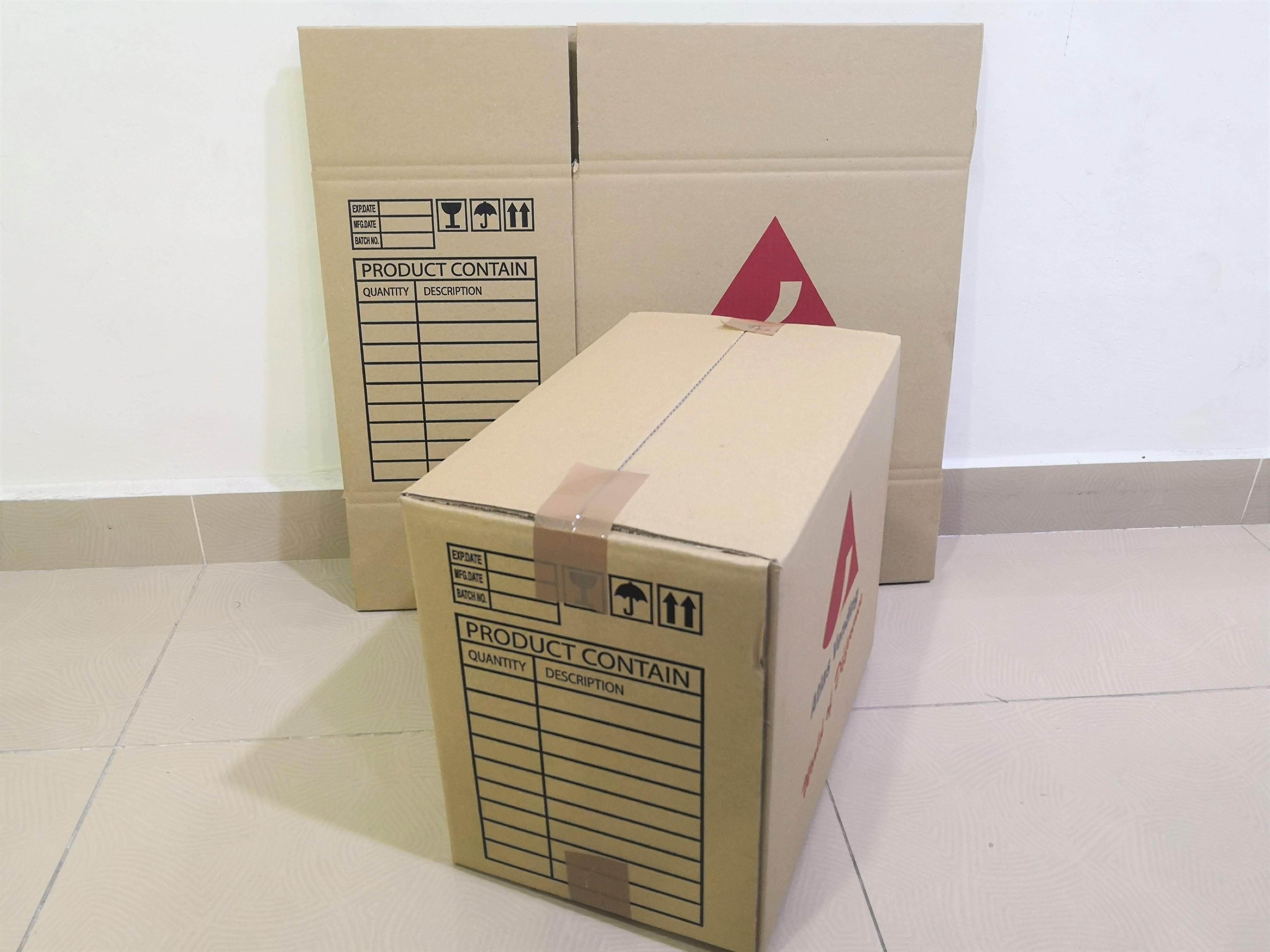 10pcs Printed Carton Boxes (L378 X W238 X H312mm)