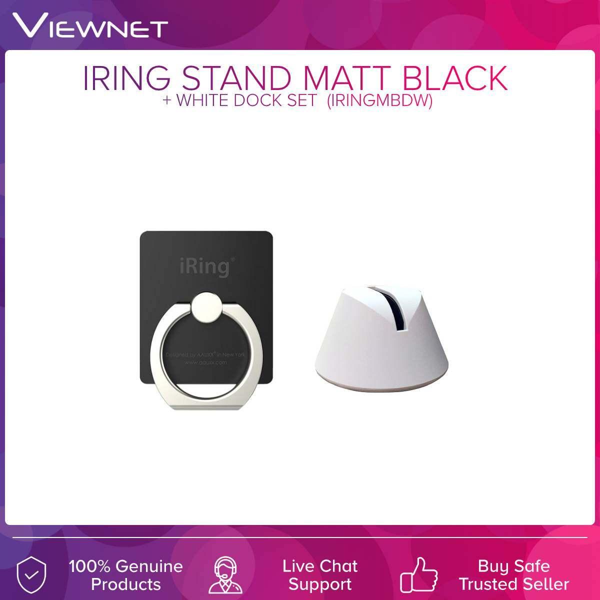 [Original] Iring 360 Degree Stand With White Dock / Black Dock Set