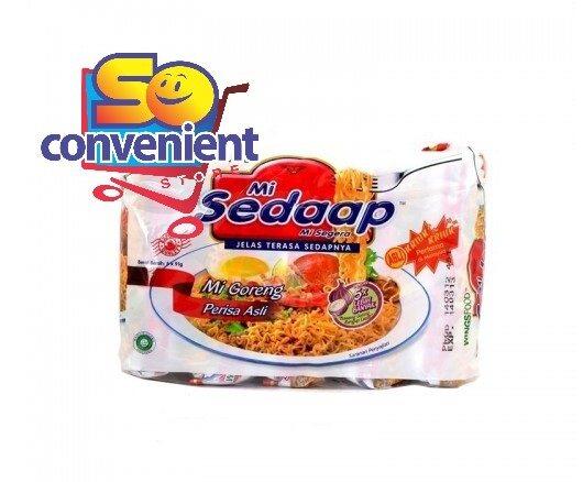 Mi Sedaap Asli Goreng Noodles 5 x 90g